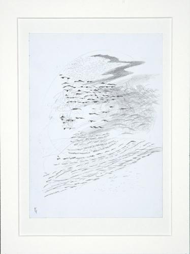12.-Spelar-min-sjo-Midsommar,-blyerts,-40x50-cm